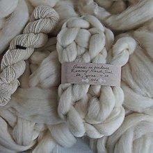 Textil - Česanec Romney Marsh Kent, z českých ovečiek, 100g - 9840773_