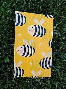 Obalový materiál - Obrúsok s včelím voskom - včely - 9840947_
