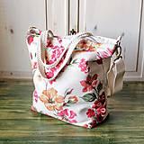 Veľké tašky - Šípová plátenná shopperka - 9838821_