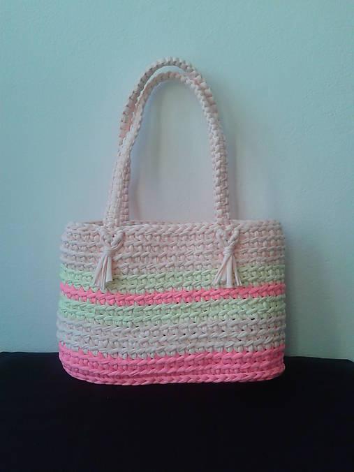 Ružová letná kabelka   Eliza64 - SAShE.sk - Handmade Kabelky 3455e9359fb