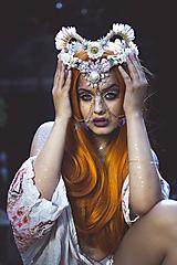 Ozdoby do vlasov - Koruna posadená na hrebienkoch z kolekcie Mermaid dream - 9838785_
