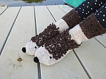 - ponožky ježkovia - 9841147_