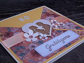 Papiernictvo - ...pohľadnica k výročiu svadby... - 9840898_