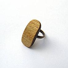 Prstene - Brestový biel - 9840540_