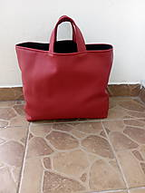 Nákupná taška bordová