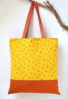 Nákupné tašky - Obojstranná taška-Veselá jeseň - 9842986_
