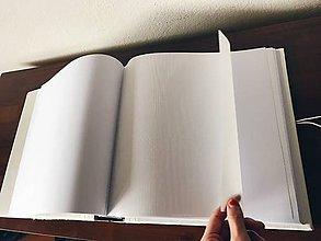 Papiernictvo - Fotoalbum (Klasický na rožky 100 strán 30x30cm (strany sú fixné)) - 9841682_