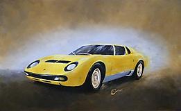 Obrazy - Lamborghini Miura - 9843766_