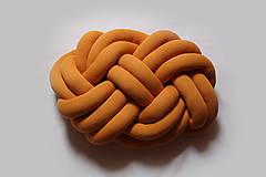 Textil - Pletený vankúš Obláčik jednofarebný - 9842047_