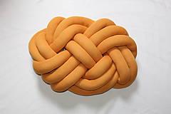 Textil - Pletený vankúš Obláčik jednofarebný - 9842048_