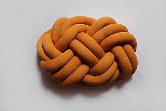 Textil - Pletený vankúš Obláčik jednofarebný - 9842046_