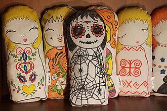 Hračky - Bavlnená bábika Kukuk strašilka - 9843672_