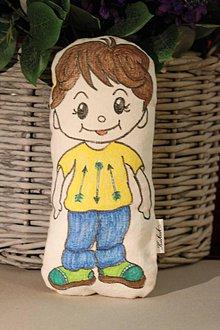 Hračky - Ručne maľovaný Kukuk chlapček - 9843705_