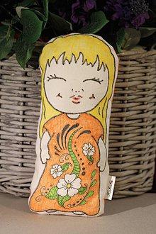 Hračky - Špaldová etno bábika Kukuk - 9843790_