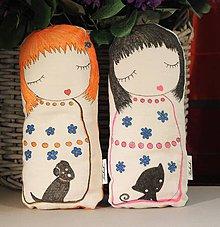 Hračky - Japonská bábika Kukuk s termovankúšikom - 9843823_