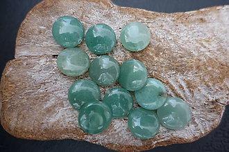Minerály - Aventurín zelený disk - 9842349_