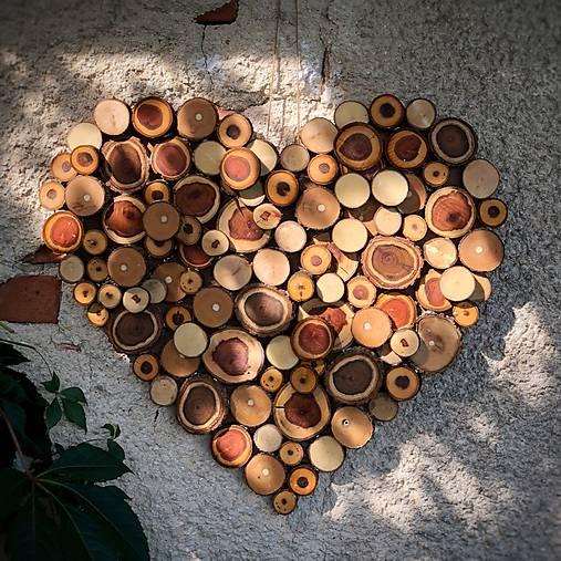 b6252be9652 Drevené srdce na stenu / dreWoods - SAShE.sk - Handmade Dekorácie