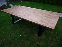 Nábytok - Industriálny stôl - 9844376_