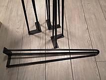 Nábytok - HAIRPIN LEGS (stolové nohy) - 9844654_