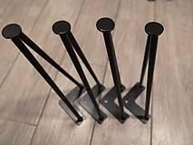 Nábytok - HAIRPIN LEGS 400mm - 9844666_
