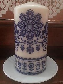 Svietidlá a sviečky - Sviačka folklór - 9843971_