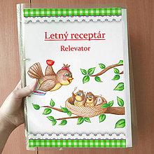 Papiernictvo - Letný receptár káro - 9842006_