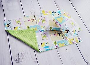 Textil - Ballerina deka + 2 obliečky na vankúšiky - 9846117_