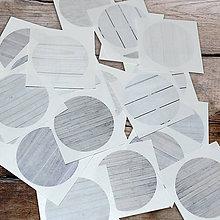 Papiernictvo - samolepky - DREVO 24 ks. - 9845282_
