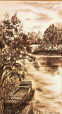 Kresby - Leto pri vode l - 9846691_