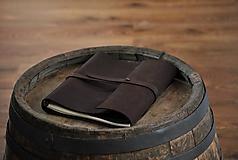 - kombinovaný kožený zápisník MOHAWK - 9845571_
