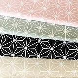 Textil - béžové origami; 100 % bavlna Francúzsko, šírka 160 cm - 9845013_