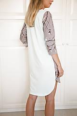 Pyžamy a župany - Nočná košela na dojčenie birds - 9847437_