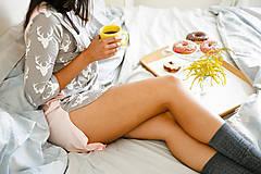 Pyžamy a župany - Nočná košela na dojčenie Forest - 9847457_