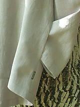 Mikiny - Ľanová mikina s kapucňou - 9846021_