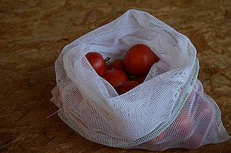 Nákupné tašky - Sieťka na ovocie/zeleninu/pečivo Zero Waste - 9845877_
