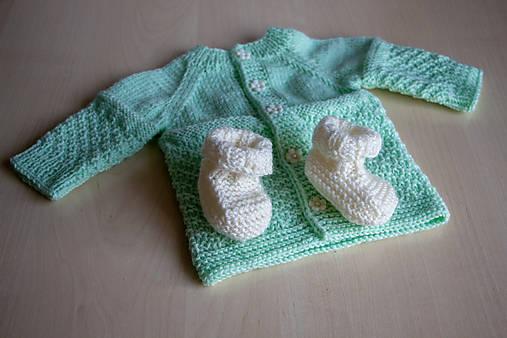 968a15f35 Pletený svetrík pre bábätko / MayasLittleShop - SAShE.sk - Handmade ...