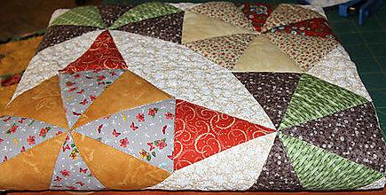 Úžitkový textil - Patchworková deka - Egypt - 9847023_