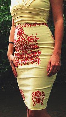 Šaty - Dámske spoločenské šaty vel.S - 9845395_