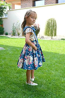 Detské oblečenie - sukňa zásterková (sukňa) - 9849091_