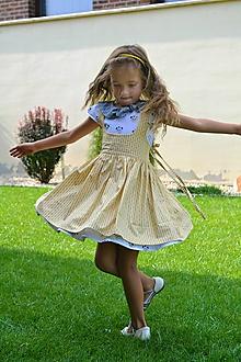 Detské oblečenie - sukňa zásterková (sukňa) - 9849122_