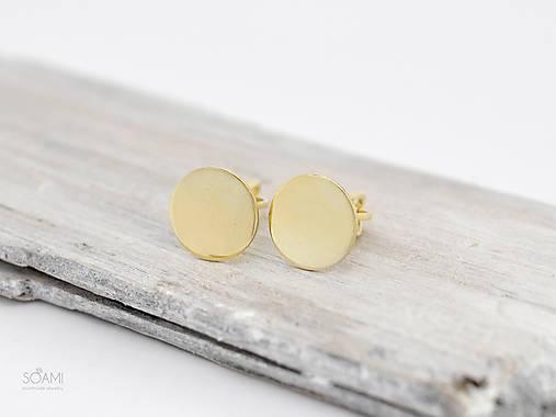 585   14k zlaté náušnice šrubovacie   soamijewelry - SAShE.sk ... 1e942145599