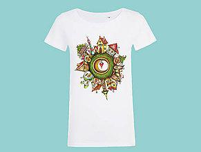 Tričká - Domčeky - tričko/strih B - 9848295_