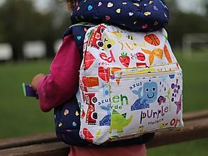 Detské tašky - Detský ruksak farby - 9850749_