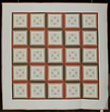 Úžitkový textil - Patchworková deka NEŽNÉ KVIETKY  (rozmer 218 x 218 cm) - 9849701_