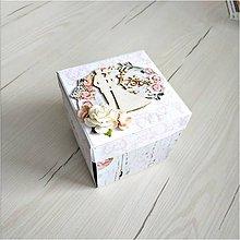 Papiernictvo - Krabička na peniaze - 9848822_