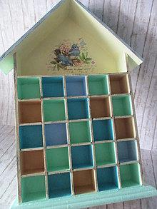 Krabičky - Drevený domček - 9849601_