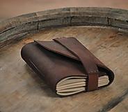 - kožený zápisník HAMMERDULL DICK - 9849722_