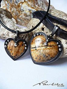 Iné šperky - Amulet pre dvoch - Patríme k sebe - 9850795_