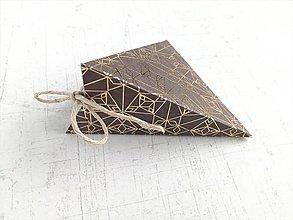 Papiernictvo - Krabičky na drobné darčeky (Šedá) - 9848004_