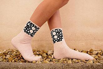 Obuv - ponožkový dvojbodkovač (muži aj ženy: 35 až 48 - Oranžová) - 9849486_